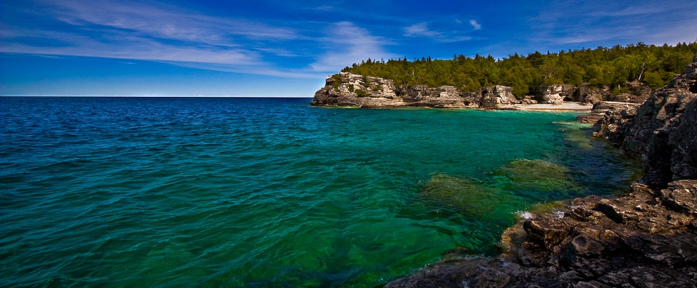 Bruce Peninsula and Fathom Five National Marine Park One-day Tour