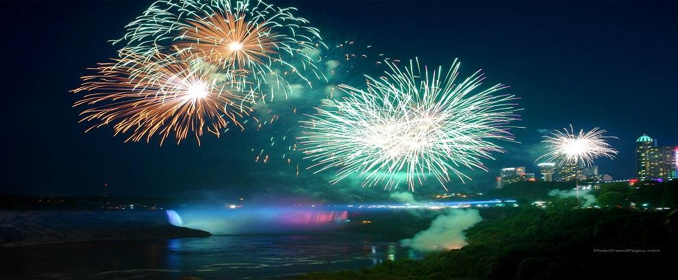 大瀑布新年狂欢